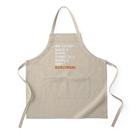 bukowski2_orange Apron