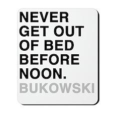 bukowski4 Mousepad