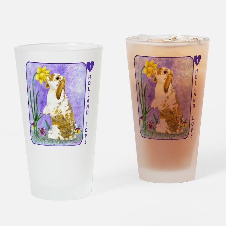 buddyiheartholops10x Drinking Glass