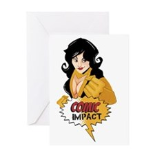 ComicImpact T-shirt_Kit Greeting Card