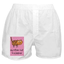 My Other Cat keychain Boxer Shorts