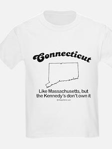 Connecticut - like massachusettes Kids T-Shirt