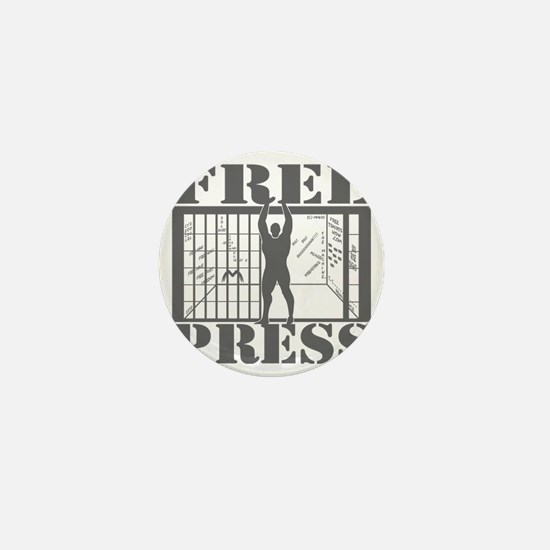 FreePress02B Mini Button