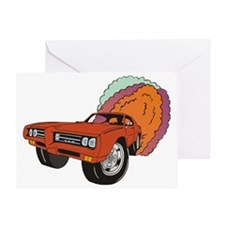 69 GTO Greeting Card