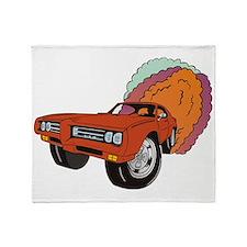 69 GTO Throw Blanket