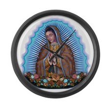 Lady of Guadalupe T5 Large Wall Clock
