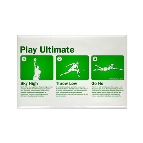 Play Ultimate Rectangle Magnet (10 pack)