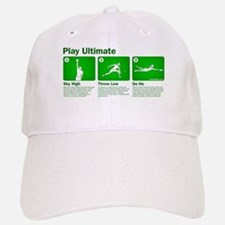 Play Ultimate Baseball Baseball Cap