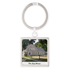 Spy House 4 Square Keychain