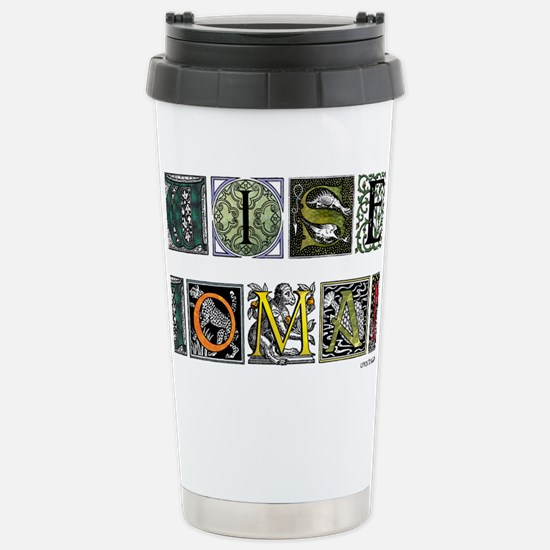WiseWoman Stainless Steel Travel Mug