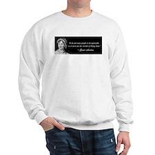 Austen Quote Sweatshirt