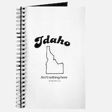 Idaho -ain't nothing here Journal
