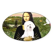 LIC-MonaLisa-Bichon3 Stickers