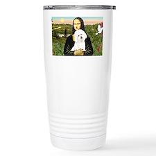 LIC-MonaLisa-Bichon3 Travel Mug