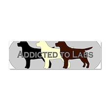 LabAddict Car Magnet 10 x 3