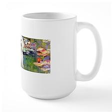 LIC-Lilies2-BichonFrise3 Mug