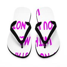 donotstartipad Flip Flops
