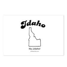 Idaho - no udaho Postcards (Package of 8)