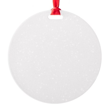 marmota Round Ornament