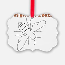bee-black-pocket Ornament