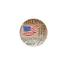 GardnerMassachusetts Mini Button