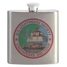Chesapeake Bay Patch Flask