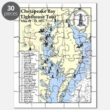 Chesapeake Map Puzzle