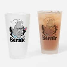 Bernie-2 Drinking Glass