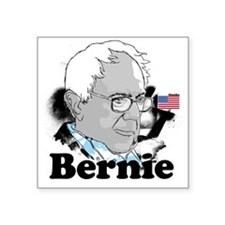 "Bernie-2 Square Sticker 3"" x 3"""