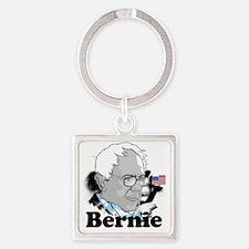 Bernie-2 Square Keychain