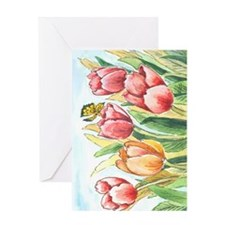 Butterfly-vertical b 201l Greeting Card