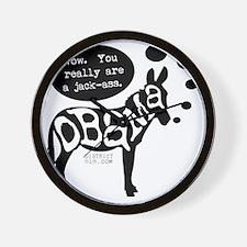 obama_jackass Wall Clock