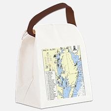 Chesapeake Journal Canvas Lunch Bag