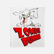 Zombie Bunnie Throw Blanket