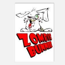 Zombie Bunnie Postcards (Package of 8)