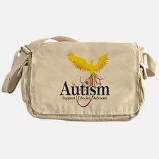 Autism-Phoenix Messenger Bag