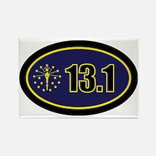INDY-131-OVALsticker Rectangle Magnet