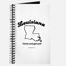 Louisiana - come and get wet Journal