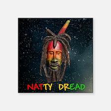 "NATTY_DREAD_12BY12_stars Square Sticker 3"" x 3"""