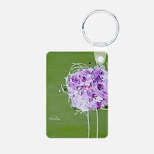 bouquet iphone 4 slider Keychains
