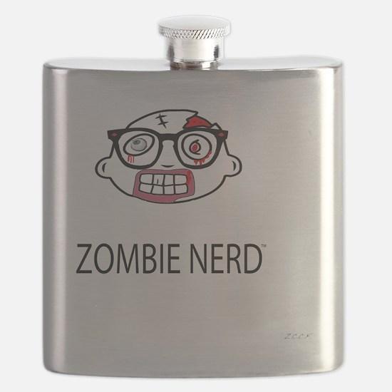 Original Zombie Nerd TM Flask