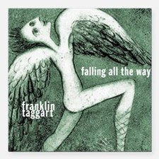 "falling all the way cove Square Car Magnet 3"" x 3"""