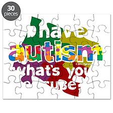 I-Have-Autism-blk Puzzle