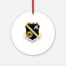 98th Bomb Wing Round Ornament