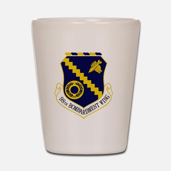 98th Bomb Wing Shot Glass