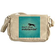 retrievin-distressedbgsq Messenger Bag