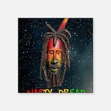 """NATTY_DREAD_Stars_Stadium B Square Sticker 3"""" x 3"""""""