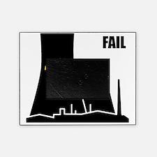 Nuclear reactor FAIL-black Picture Frame