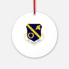 98th Range Wing Round Ornament