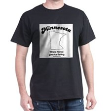 Minnesota - where prince goes ice fishing T-Shirt